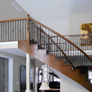 stairway and foyer gallery by gatliff custom builders