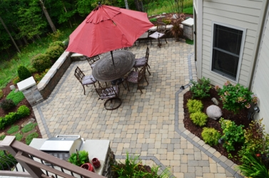 aerial-view-brick-pavers-patio