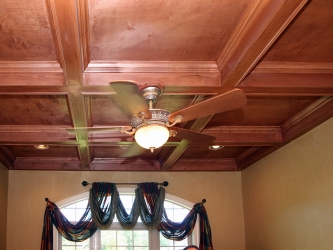coffered ceilings details