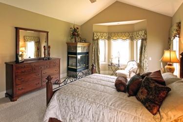 cozy nook inside bedroom