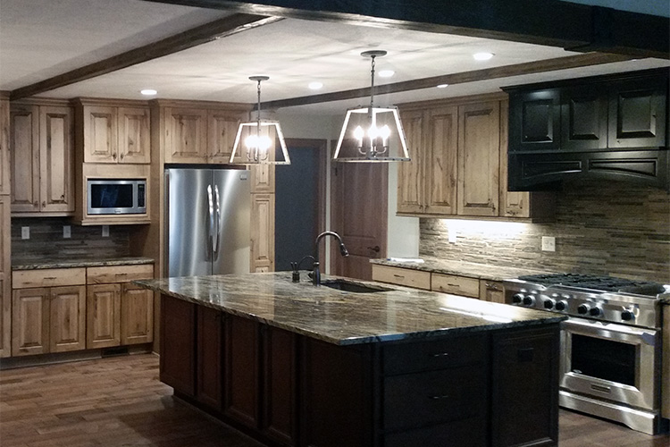 kitchen remodeling project by gatliff custom builders - after
